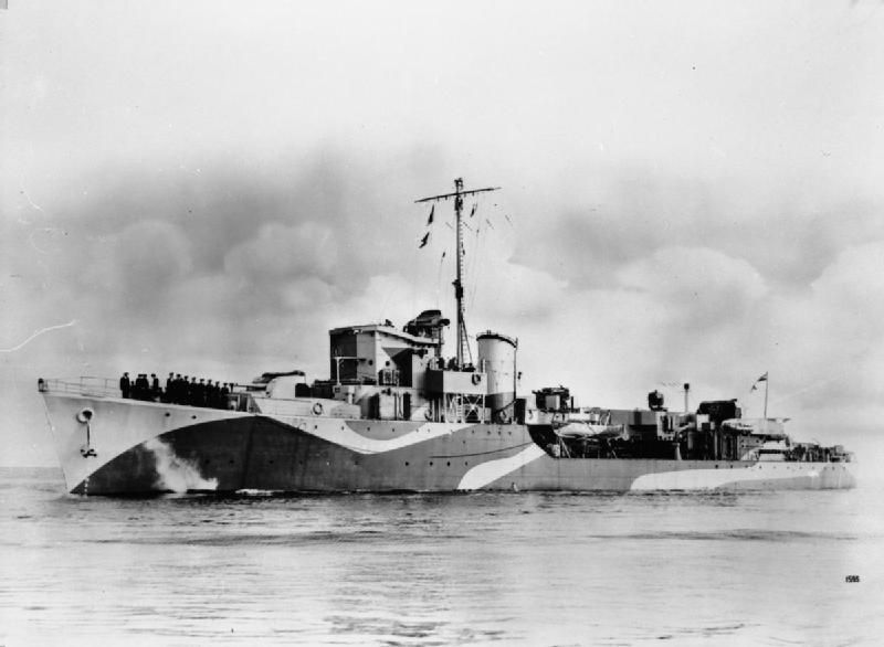 When the British Wanted to Camouflage Their Warships, They Made Them