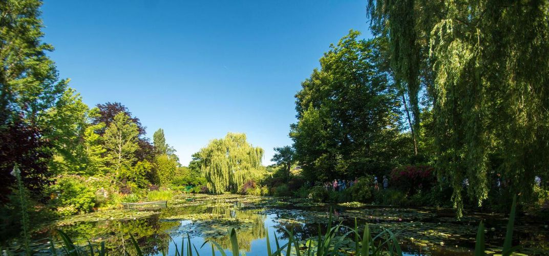 Grounds at Claude Monet's house, Giverny