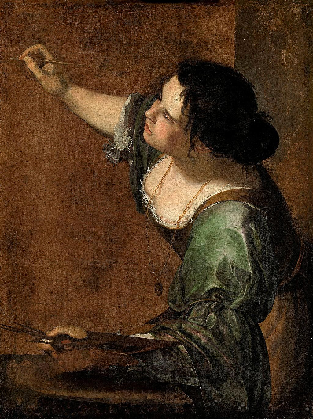 Self-Portrait as the Allegory of Painting, Artemisia Gentileschi