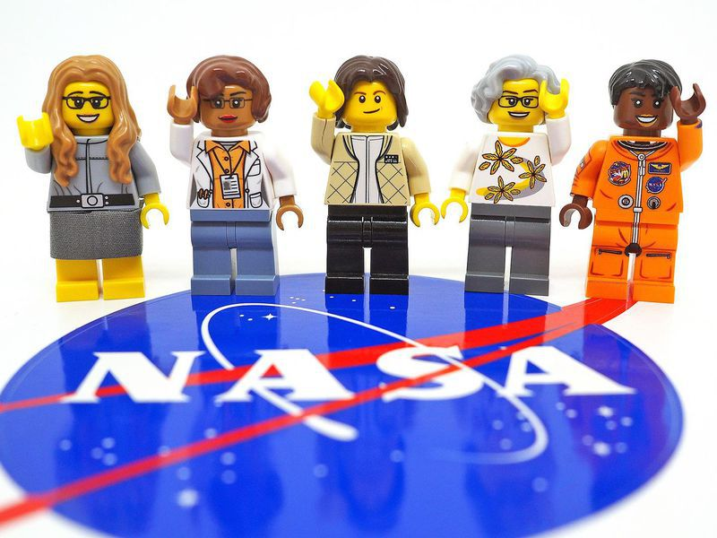 "Meet LEGO's ""Women of NASA"""