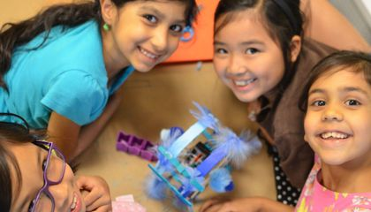 Robotics Can Get Girls Into STEM, but Some Still Need Convincing
