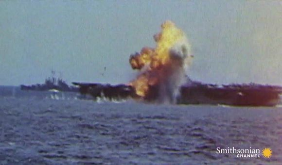 Preview thumbnail for video'Attack on the USS Bunker Hill