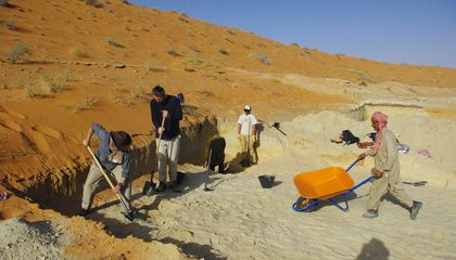 Human Artifacts Found at 46 Ancient Lakes in the Arabian Desert