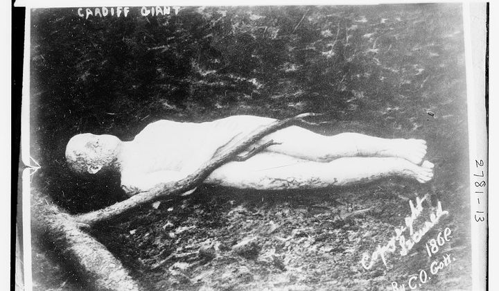 The Cardiff Giant Was Just a Big Hoax