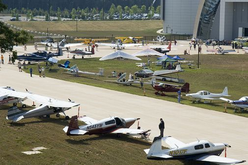 More than 50 airplanes will be onhand at the Steven F. Udvar-Hazy Center June 16.