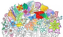 The Artist Who Made Coloring Books Cool for Adults Returns With a New Masterpiece