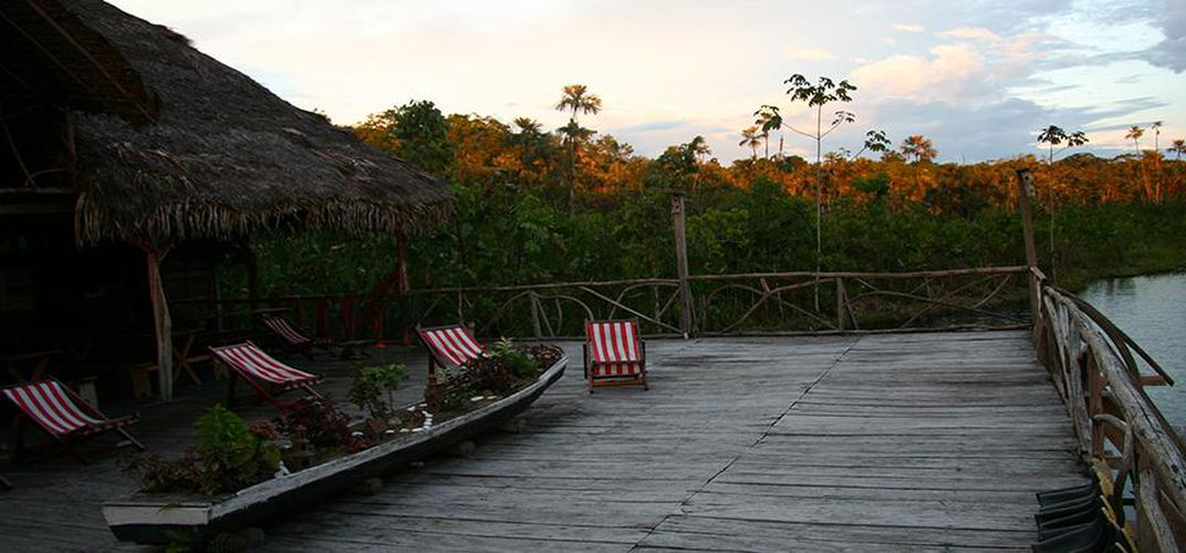 Sacha Lodge, located in the heart of Ecuador's Amazon Basin