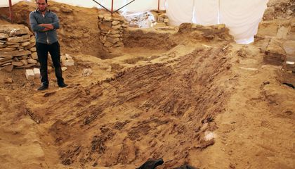 Archeologists Find a Rare 4,500-Year-Old Egyptian Funerary Boat