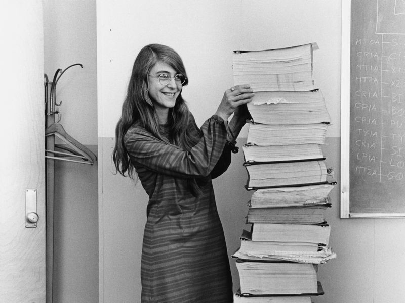 Margaret Hamilton Led the NASA Software Team That Landed Astronauts on the Moon