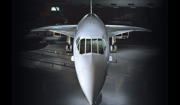 What Goes Into Displaying a Supersonic Passenger Jet?