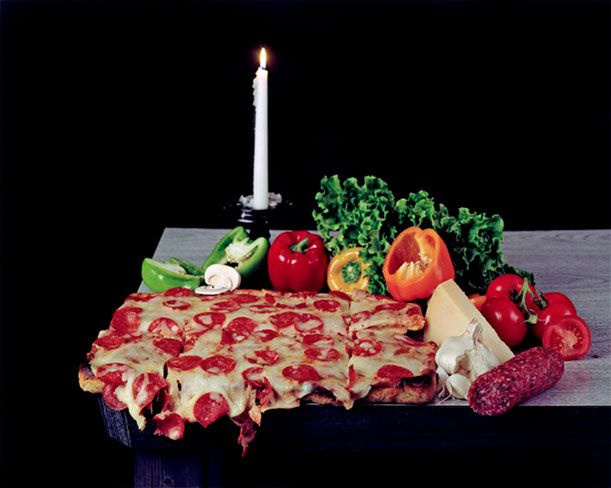 "Oto Gillen, ""untitled, (Vanitas),"" 2007, traditional chromogenic print, mat board, UV glass, mahogany, screws"