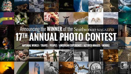 Announcing the winner of the Smithsonian Magazine 17th Annual Photo Contest
