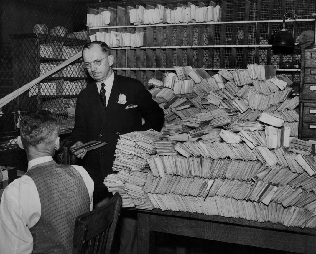 Denver post office chain mail trove