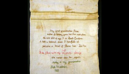 A Simple Cotton Sack Tells an Intergenerational Story of Separation Under Slavery