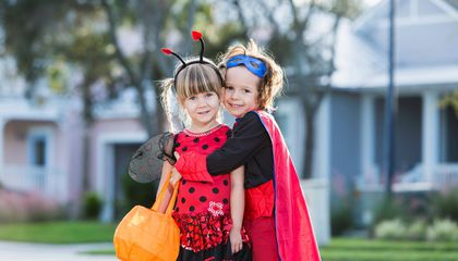 Kids Ditch Princess Costumes in Favor of Superheroes This Halloween