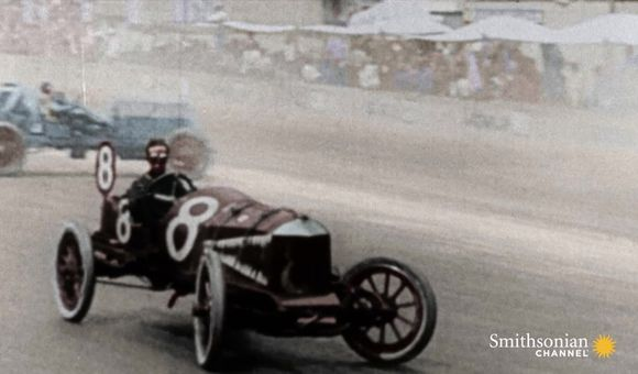 Preview thumbnail for video'The first Indy 500 had its share of thrills and spills