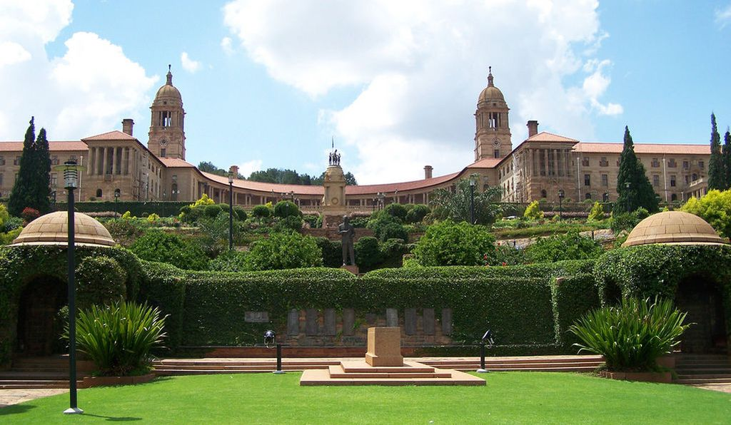 The Union Buildings in Pretoria.