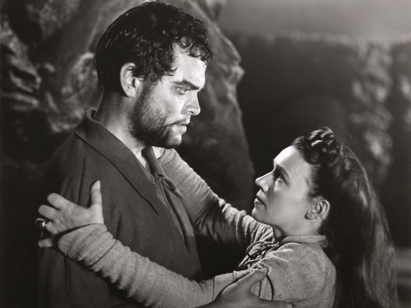 Orson Welles as Macbeth