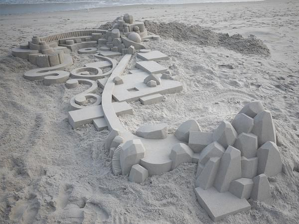 Seibert says this castle shows his attention to detail.