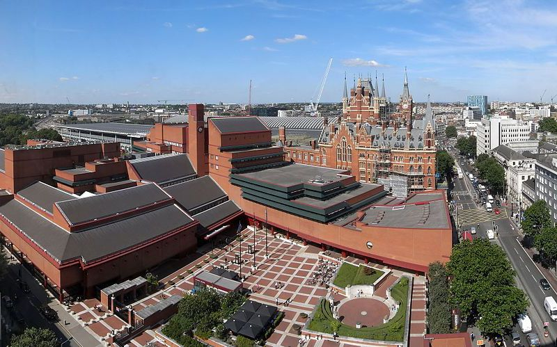 The British Library and St Pancras