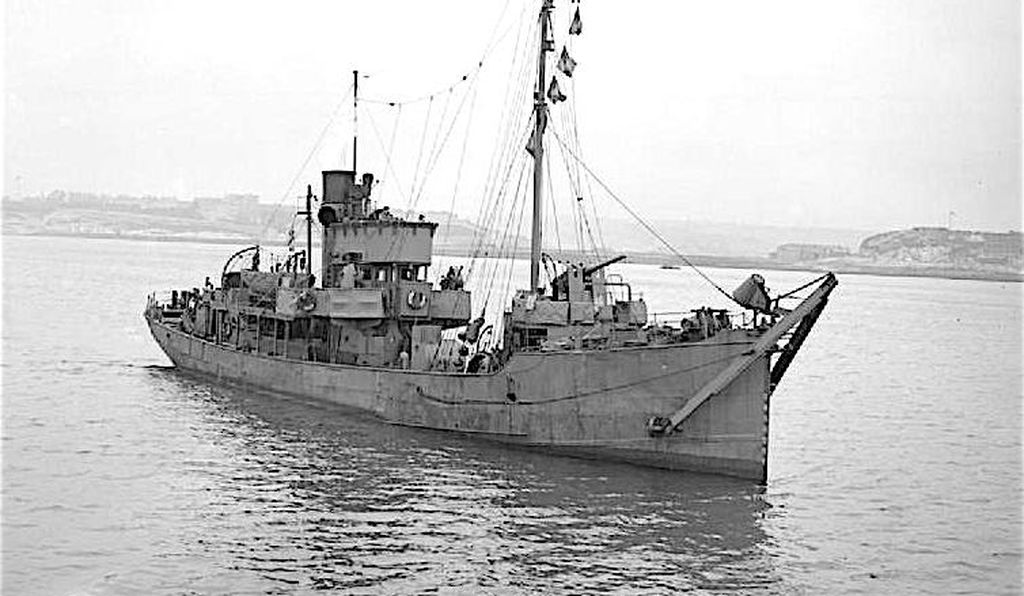 HMT Swansea Castle, a fishing trawler pressed into service during the First World War