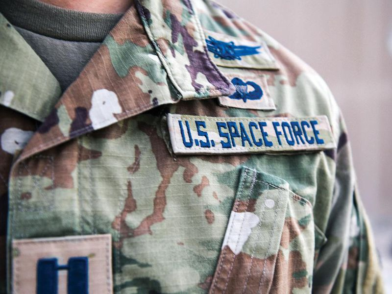 Space Force uniform