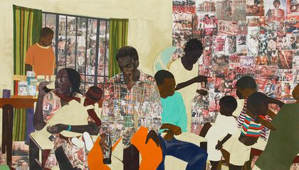Njideka Akunyili Crosby's Intimate Work Straddles Mediums And Oceans