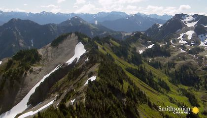 How the Olympic Mountains Got Their Name