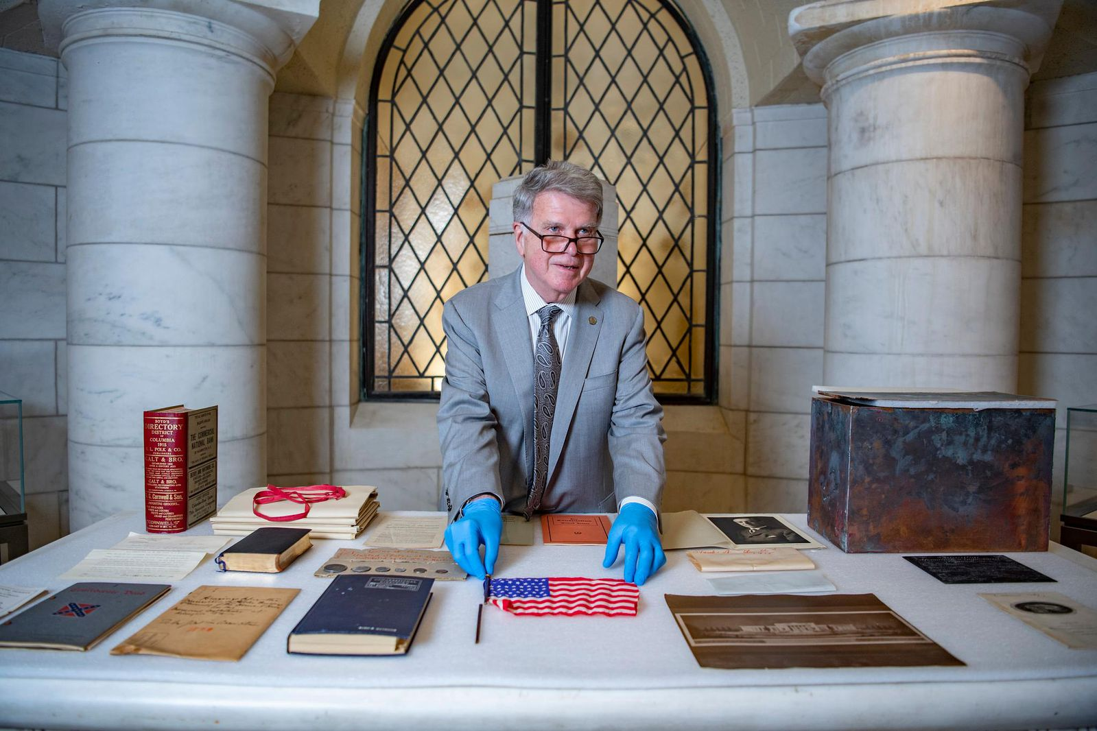 Arlington National Cemetery Opens Its 105-Year-Old Time Capsule