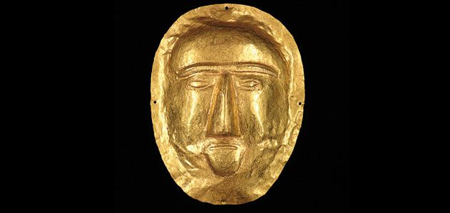 First-century funerary mask
