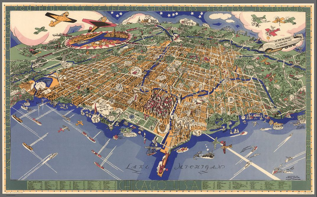 Eight Awesome Maps From Stanfords New David Rumsey Map Center