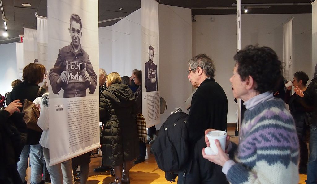 The exhibit at the Museum of Jewish Heritage in New York City showcases photos of the children who stayed at Kloster Indersdorf