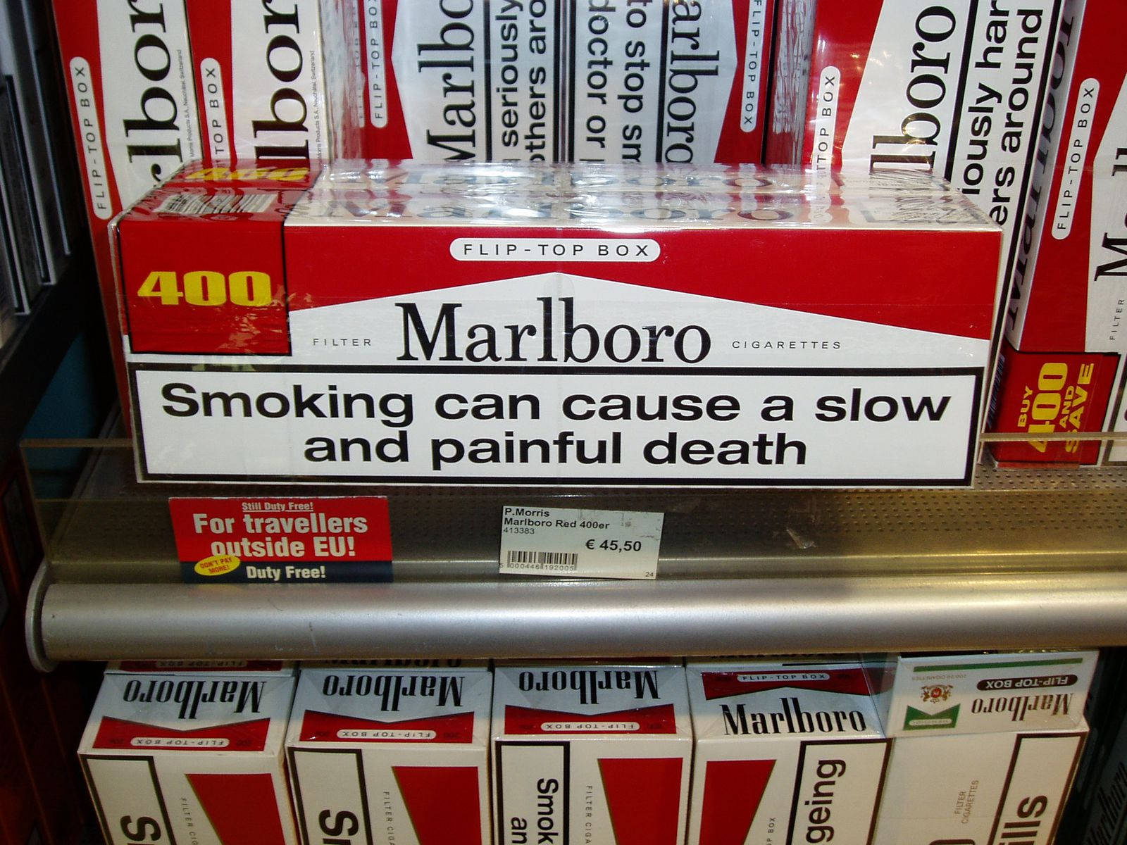 People Have Tried to Make U S  Cigarette Warning Labels More Graphic