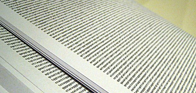 A human genome, printed