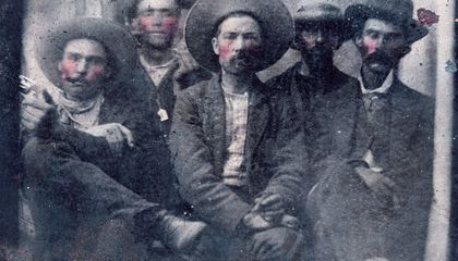 Rare Photograph of Billy the Kid Found at a Flea Market