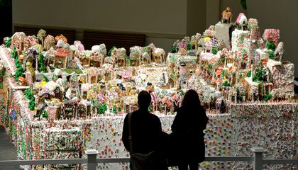 Behold: The World's Largest (Three-Ton) Gingerbread Village