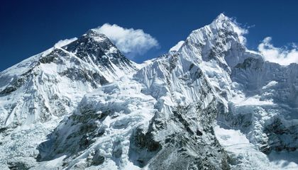 Mount Everest's Glaciers are Turning Into Lakes