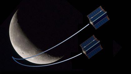 CubeSats to the Moon (Mars and Saturn, Too)