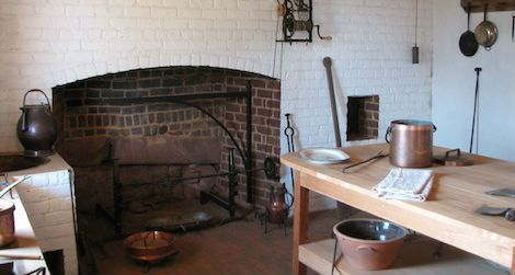 Monticello's kitchen