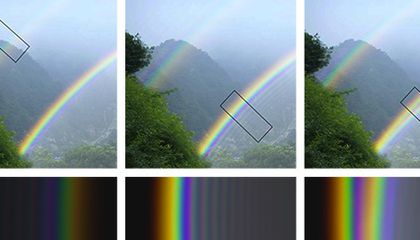 Now We Know Why Rainbows Split in Two
