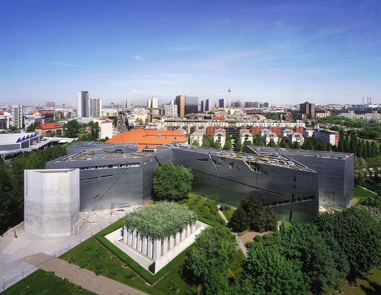 The Libeskind-designed Jewish Museum Berlin