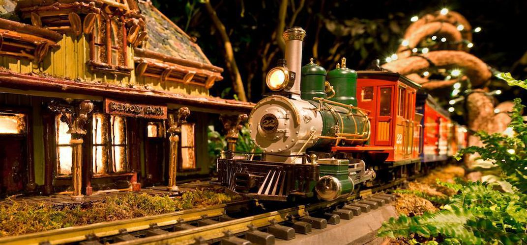 Caption: Eight Can't-Miss Holiday Toy Train Shows