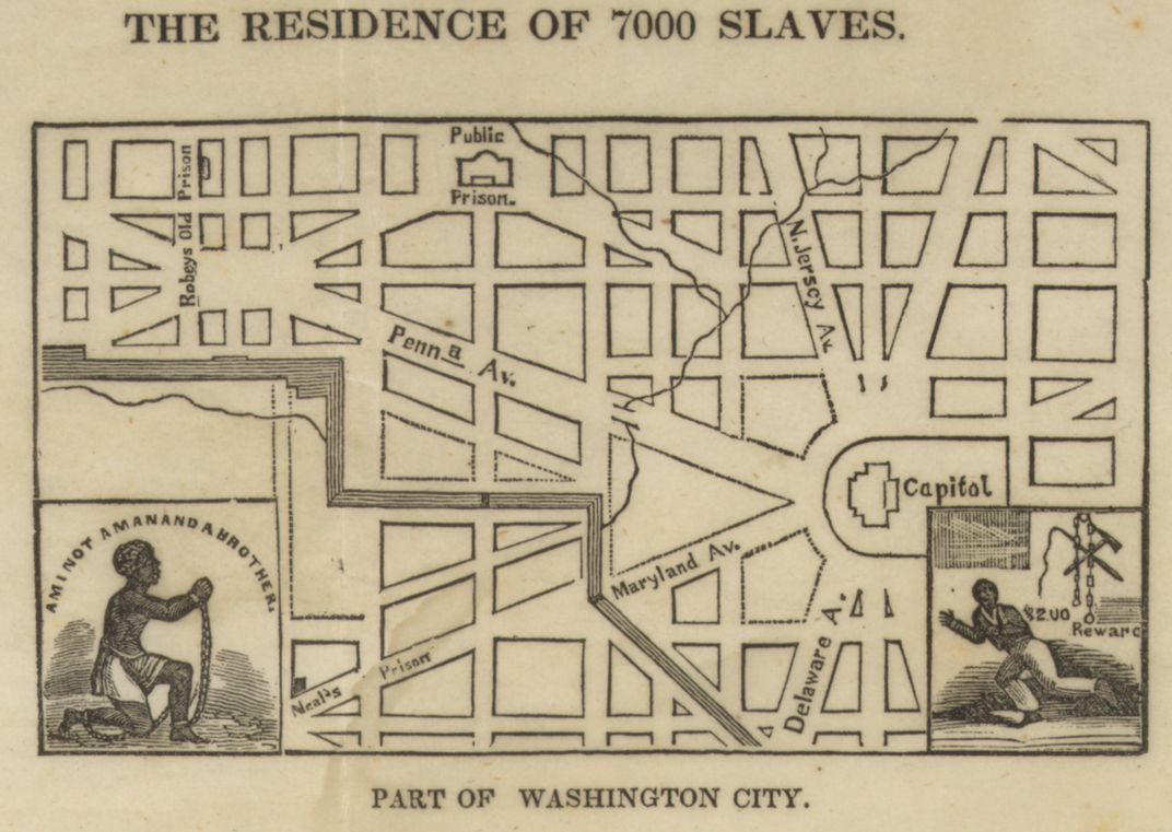Abolitionist map