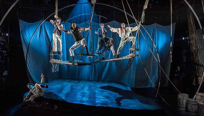 """Call Me Ishmael"" Is the Only Melville Tradition in This Innovative Presentation of ""Moby Dick"""