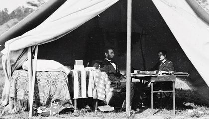 George McClellan and Abraham Lincoln