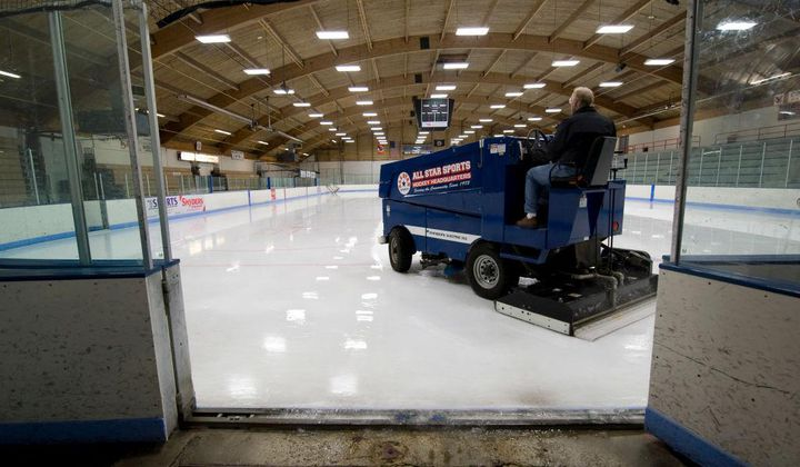 How the Zamboni Changed the Game for Ice Rinks