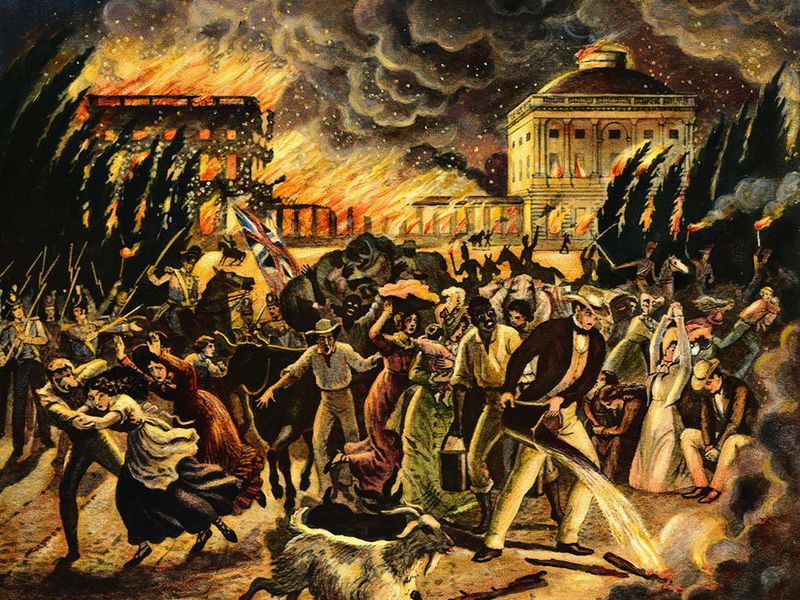Burning of Washington, 1814