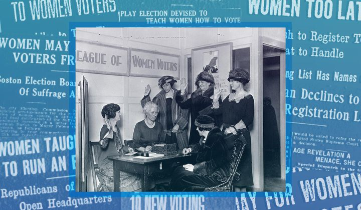 What Voter Registration Looked Like in 1920