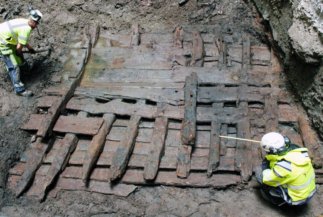 16th Century Shipwreck Discovered Beneath Stockholm City Center