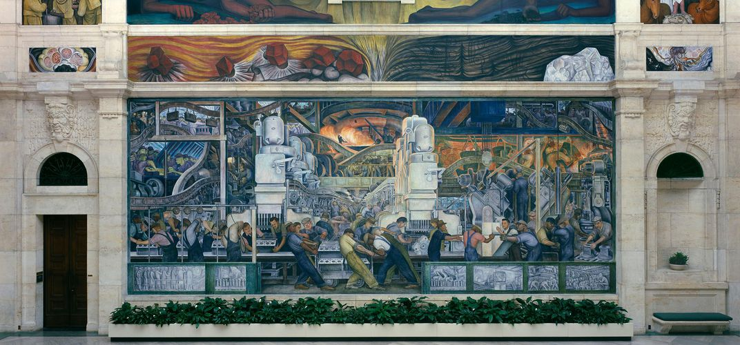 The Diego Rivera Court, Detroit Institute of Arts. Credit: Detroit Institute of Arts